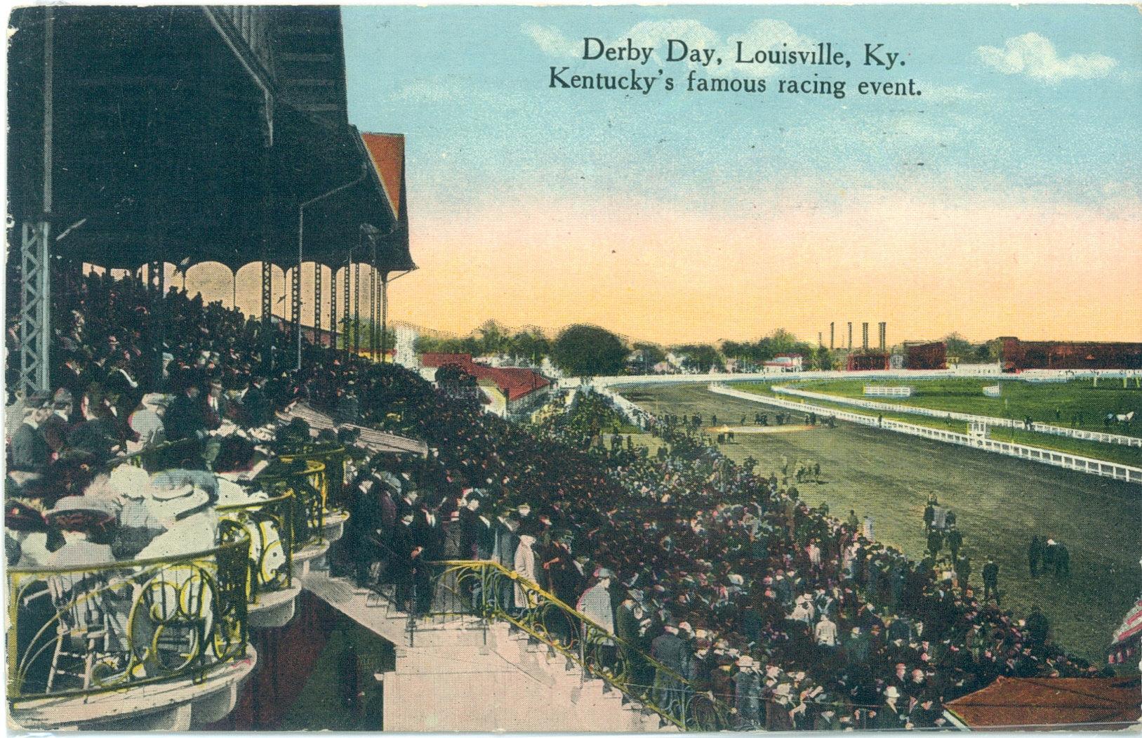 Vintage Kentucky Derby 105