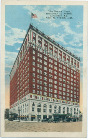 brown hotel louisville