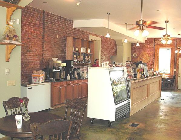 Vintage Coffee House Drinker